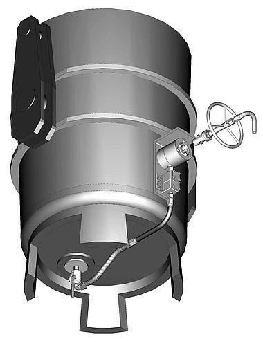 BEDA Argon Ladle Bubbling System