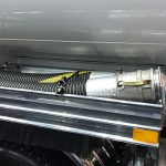 4 Inch Vapour Lock Vapour Recovery Assembly On Fuel Tanker