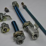 Weinhold Field Attachable Industrial Hose Fittings Complete With Reusable Quick Release Hose Tail