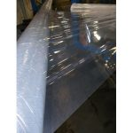 Barrier Films Wound Around A Solid Mandrel To Manufacture Composite Hose