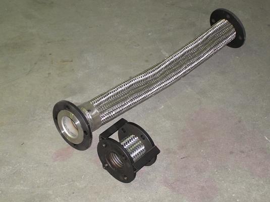Bituminous Stainless Steel Flexible Metal Spray Bar Hoses