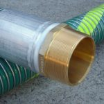 Brass Hose Tail - CT Hex With 30 Degree Machined Seat