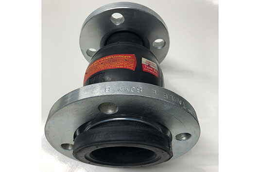 CT REJ Rubber Expansion Joint Special Jump Size 80 NB To 50 NB