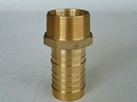 CT Hex hose tail BSPT and NPT thread in Brass 20 mm to 100 mm NB fully machined long tail