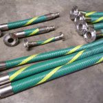 Convoluted Technologies code 1000 composite hoses with a range of unique manufactured fittings