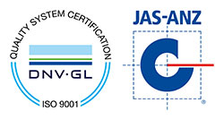DNV GL ISO 9001 JAS ANZ Mark