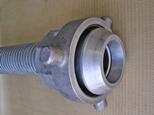 Flexible metal interlocked bitumen transfer hose
