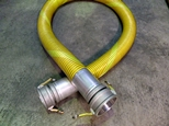 Fuel Code 1001 composite hose assembly complete with Petrolock end connections