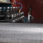 Interlocked Metal Hose Manufacturing Line Also Commonly Know As Stripwound Hose
