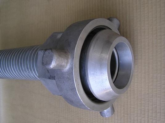 Interlocked bitumen transfer hose