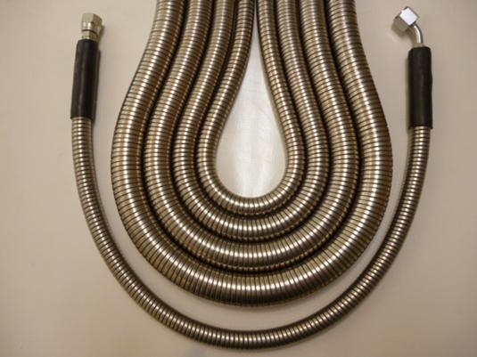 Jack hammer hose protection