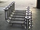 Pressure pipe welding to the ASME IX B31.1 Code