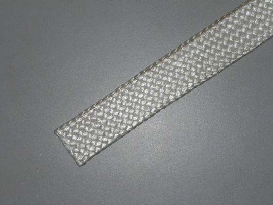 Silica fibre sleeving high temperature rating