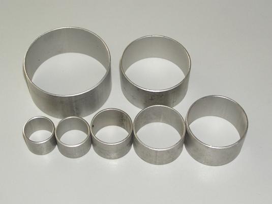 Stainless steel crimp rings