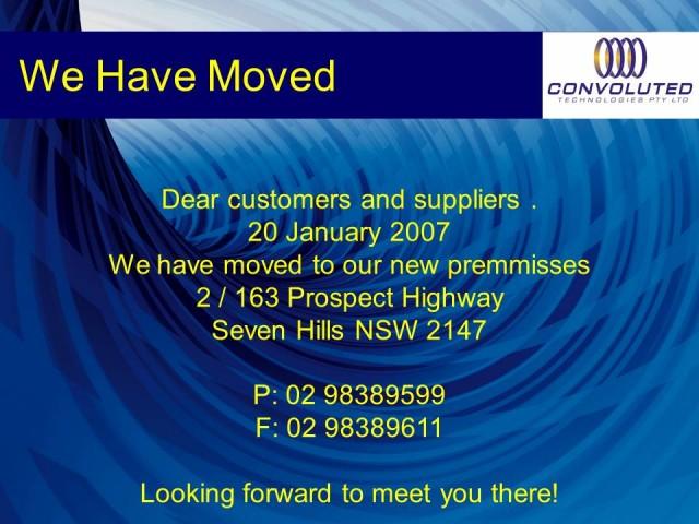 Moving to bigger premises