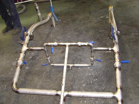 Pressure Pipe Fabrication Work