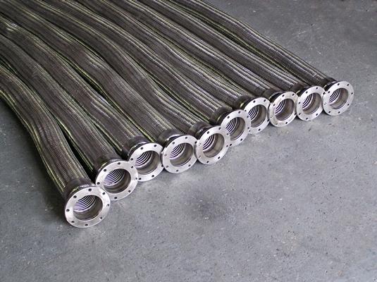 TTMA Flanged Flexible Metal Hose Assemblies