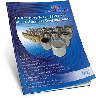 hex hose tails